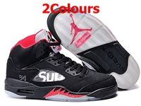Mens And Women Air Jordan 5 Aj5 Supreme Basketball Shoes 2 Colours