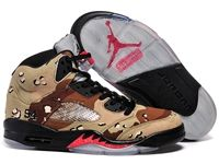 Mens And Women Air Jordan 5 Aj5 Supreme Camo Basketball Shoes 1 Colour
