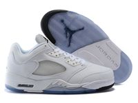 Mens And Women Air Jordan 5 Retro Metallic Silver Aj5 Lower Basketball Shoes 1 Colour