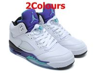 Mens And Women Air Jordan 5 Aj5 High Basketball Shoes 2 Colours