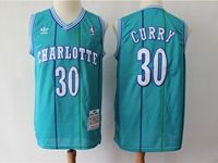 Mens Nba Charlotte Hornets Custom Made Green Hardwood Classics Swingman Jersey