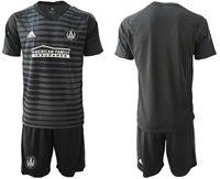 Mens 19-20 Soccer Atlanta United Club (custom Made) Black Away Short Sleeve Suit Jersey