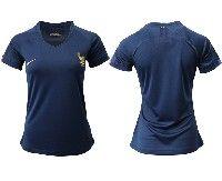 Women 19-20 Soccer France National Team Blank Blue Home Short Sleeve Jersey