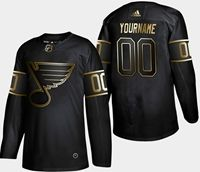 Mens Adidas Nhl St.louis Blues 2019 Champion Black Gold Current Player Jersey