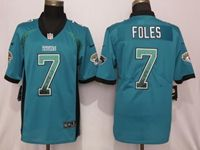 Mens Nfl Jacksonville Jaguars #7 Nick Foles Green Drift Fashion Vapor Untouchable Elite Jersey