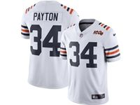Mens Nfl Chicago Bears #34 Walter Payton White 100th Season Nike Vapor Untouchable Limited Jersey
