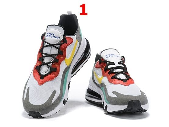 Mens Nike Air Max 270 React Running Shoes 5 Colours