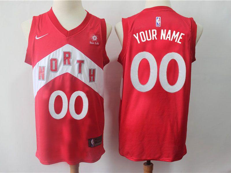 Mens 2018-2019 Nba Toronto Raptors Red Current Player Nike Playoff Award Edition Swingman Jersey
