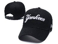 Mens Mlb New York Yankees Adjustable Hats Yankees New Era Black
