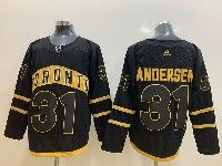 Mens Nhl Toronto Maple Leafs Leafs #31 Frederik Andersen Toronto Adidas Black Jersey