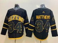 Mens Nhl Toronto Maple Leafs Leafs #34 Auston Matthews Toronto Adidas Black Jersey
