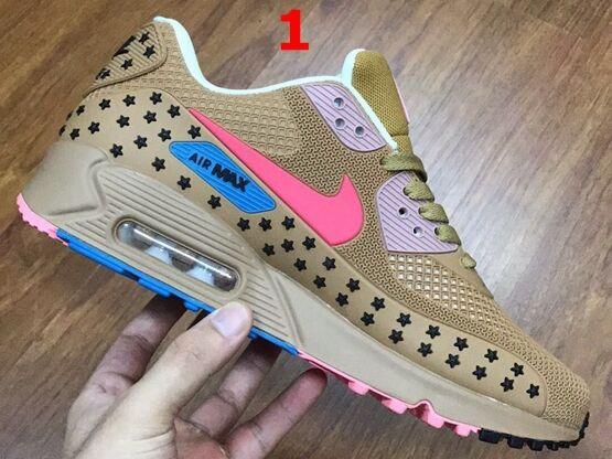 Mens Nike Air Max 90 Kpu Running Shoes 9 Colours