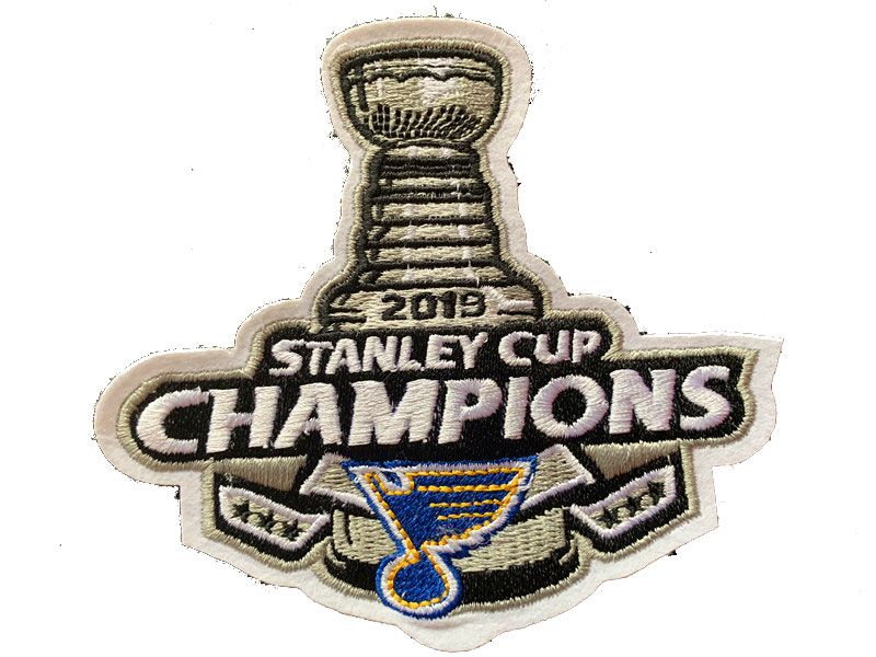 Nhl 2019 Stanley Cup Champions Cup Patch