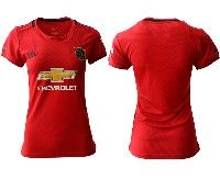 Women 19-20 Soccer Arsenal Club ( Blank ) Red Home Short Sleeve Jersey