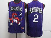 Mens Nba Toronto Raptors #2 Kawhi Leonard Purple Nike Hardwood Classics Jersey