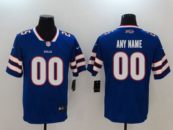 Mens Women Youth Nfl Buffalo Bills Blue Custom Made Vapor Untouchable Limited Jersey