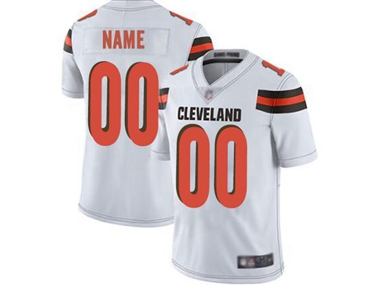 Mens Women Youth Nfl Cleveland Browns White Custom Made Vapor Untouchable Limited Jersey