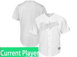 Mens Mlb Los Angeles Dodgers White 2019 Players Weekend Current Player Flex Base Jersey