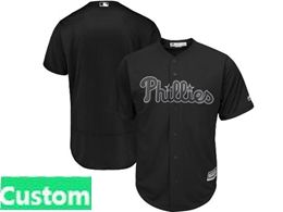 Mens Mlb Philadephia Phillies Black 2019 Players Weekend Current Player Flex Base Jersey