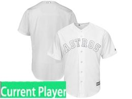 Mens Mlb Houston Astros White 2019 Players Weekend Current Player Flex Base Jersey