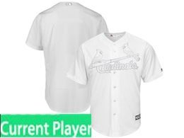 Mens Mlb St.louis Cardinals White 2019 Players Weekend Current Player Flex Base Jersey