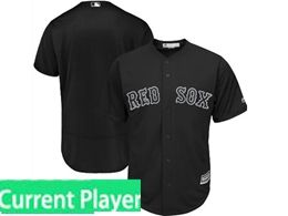 Mens Mlb Boston Red Sox Black 2019 Players Weekend Current Player Flex Base Jersey