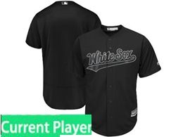 Mens Mlb Chicago White Sox Black 2019 Players Weekend Current Player Flex Base Jersey