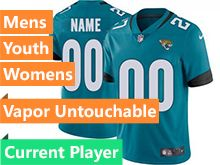 Mens Women Youth Nfl Jacksonville Jaguars Green New Vapor Untouchable Limited Current Player Jersey