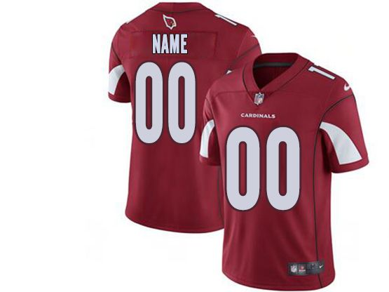 Mens Women Youth Nfl Arizona Cardinals Red Custom Made Vapor Untouchable Limited Jersey