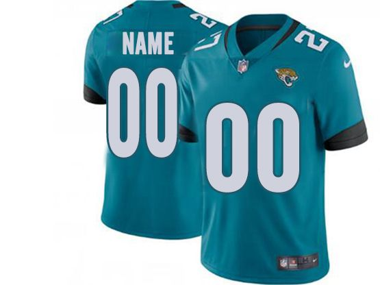 Mens Women Youth Nfl Jacksonville Jaguars Green Custom Made Vapor Untouchable Limited Jersey