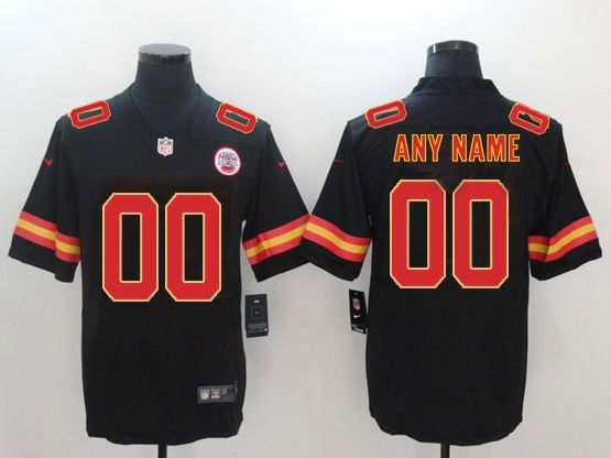 Mens Women Youth Nfl Kansas City Chiefs Black Current Player Vapor Untouchable Limited Jersey