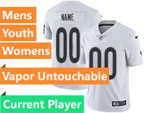 Mens Women Youth Nfl Las Vegas Raiders White Current Player Vapor Untouchable Limited Jersey