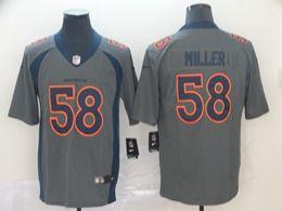 Mens Nfl Denver Broncos #58 Von Miller Gray Nike Inverted Legend Vapor Untouchable Limited Jersey