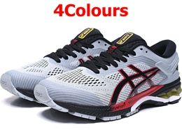 Mens Asics Gel-kayano 26 Running Shoes 4 Colors