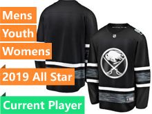 Mens Women Youth Adidas Buffalo Sabres Black 2019 All Star Current Player Jersey