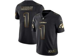 Mens Nfl Arizona Cardinals #1 Kyler Murray Black Gold Vapor Untouchable Limited Jersey