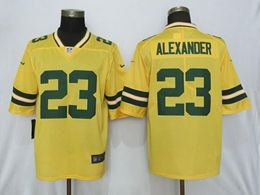 Mens Nfl Green Bay Packers #23 Jaire Alexander Gold Nike Inverted Legend Vapor Untouchable Limited Jersey