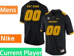 Mens Nacc Nfl Missouri Tigers Current Player Black Vapor Untouchable Limited Football Jersey