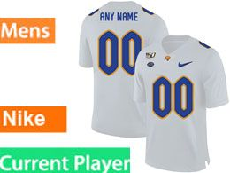 Mens Nacc Nfl Pittsburgh Panthers Current Player White Vapor Untouchable Limited Football Jersey