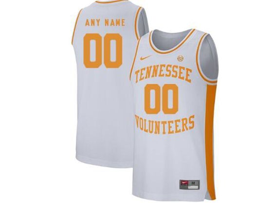 Mens Ncaa Nba Tennessee Volunteers Current Player White Nike Jersey