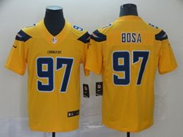 Mens Nfl Los Angeles Chargers #97 Joey Bosa Gold Nike Inverted Legend Vapor Untouchable Limited Jersey