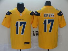Mens Nfl Los Angeles Chargers #17 Philip Rivers Gold Nike Inverted Legend Vapor Untouchable Limited Jersey