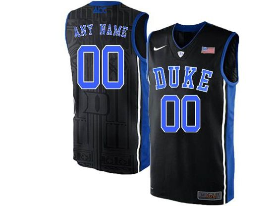 Mens Ncaa Nba Duke Blue Devils Current Player Black Nike Acc Elite Jersey