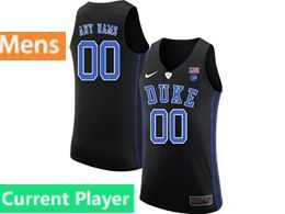 Mens Ncaa Nba Duke Blue Devils Current Player Black Nike Jersey