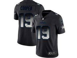 Mens Nfl Dallas Cowboys #19 Amari Coope Pro Line Black Smoke Fashion Limited Jersey