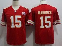 Mens Nfl Kansas City Chiefs #15 Patrick Mahomes Red Vapor Untouchable Limited Player Jersey