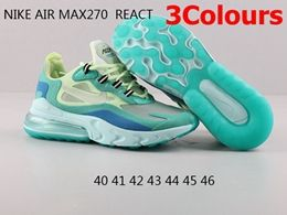 Mens Nike Air Max270 React Running Shoes 3 Colors