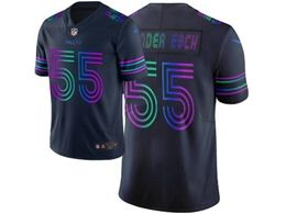 Mens Nfl Dallas Cowboys #55 Leighton Vander Esch Navy Blue City Edition Nike Vapor Untouchable Limited Jersey