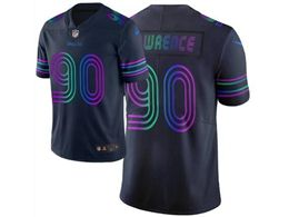 Mens Nfl Dallas Cowboys #90 Demarcus Lawrence Navy Blue City Edition Nike Vapor Untouchable Limited Jersey