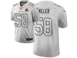 Mens Nfl Denver Broncos #58 Von Miller White City Edition Nike Vapor Untouchable Limited Jersey